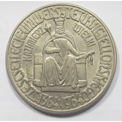 10 zlotych 1964 TRIAL STRIKE - Casimir III.