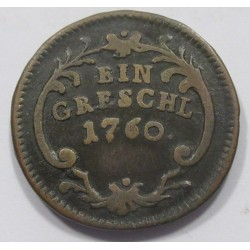 Maria Theresia 1 greschl 1760