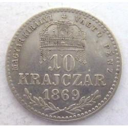 10 kreuzer 1869 KB - MKVP
