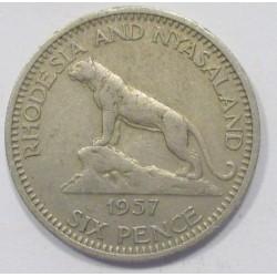6 pence 1957