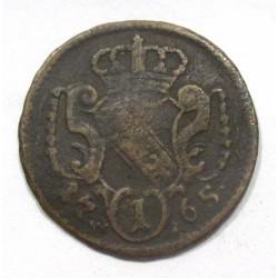 Francis I 1 pfennig 1765 WI