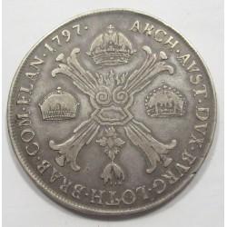 Franz I. koronathaler 1797 C