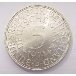 5 mark 1974 D
