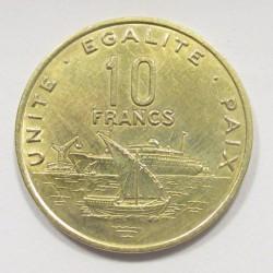10 francs 2007