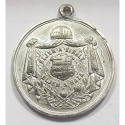 Franz Joseph Coronation Tin Medail 1867