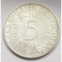 5 mark 1974 F