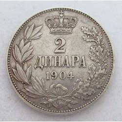 2 dinara 1904