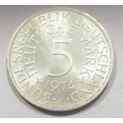 5 mark 1974 J