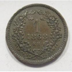 1 kreuzer 1868 KB