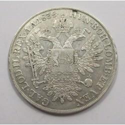 Franz I. 1/2 thaler 1835  A
