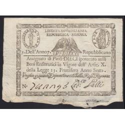 10 paoli 1798