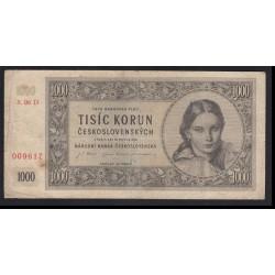 1000 korun 1945 D