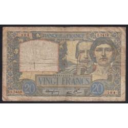 20 francs 1941