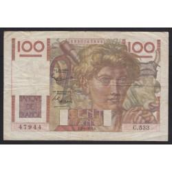 100 francs 1953