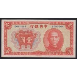 1 yuan 1936 - Central Bank of China