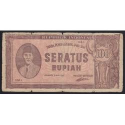 100 rupiah 1947