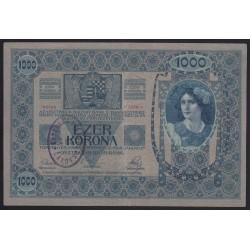 1000 kronen/korona 1919 - CAKOVEC