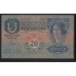 20 kronen/korona 1919 - RUMÄNIEN TIMBRU SPECIAL