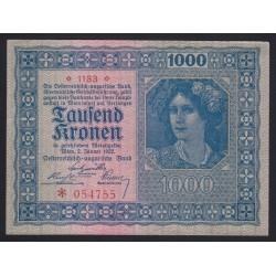 1000 kronen 1922