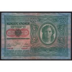 100 kronen/korona 1919