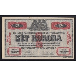 2 kronen/korona 1916 - Ostffyasszonyfa