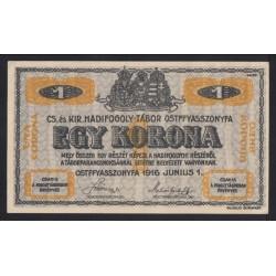 1 kronen/korona 1916 - Ostffyasszonyfa