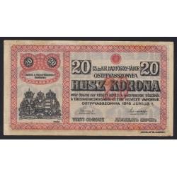 20 kronen/korona 1916 - Ostffyasszonyfa