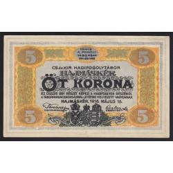 5 kronen/korona 1916 - Hajmáskér