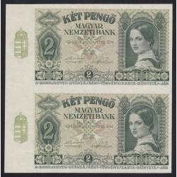 2 pengő 1940 - ÍVTÖREDÉK
