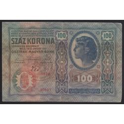 100 kronen/korona 1919 - TÖRÖKSZENTMIKLÓS