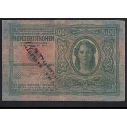 100 kronen/korona 1919 - ZÁRA