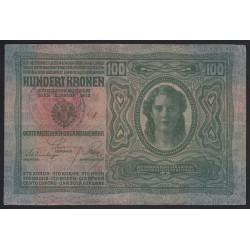 100 kronen/korona 1919 - szerb felülbélyegzés