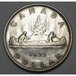 1 dollar 1935 - 25th anniversary of V. Gerorge