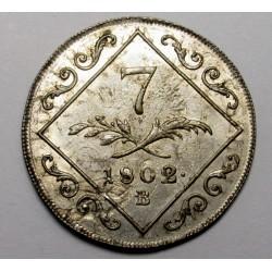 7 krajcár 1802 B