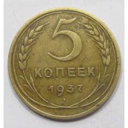 5 kopeks 1937
