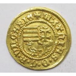 King Matthias golden forint ÉH531/r