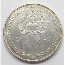3 reichsmark 1929 E - Meissen