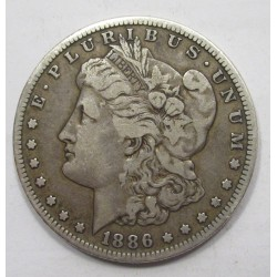 1 dollar 1886 S