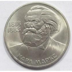 1 rubel 1983 - Karl Marx