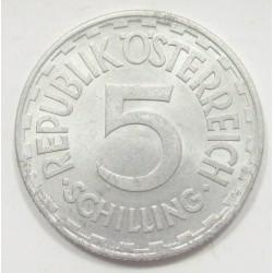5 schilling 1952