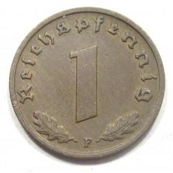 1 reichspfennig 1937 F