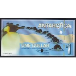1 dollar 2007 - SPECIMEN
