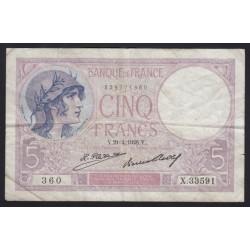 5 francs 1928