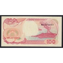 100 rupiah 1992
