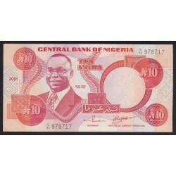 10 naira 2001