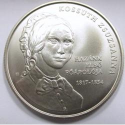 2000 forint 2017 - Kossuth Zsuzsanna