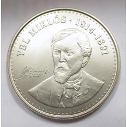 2000 forint 2014 - Ybl Miklós