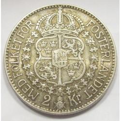 2 kronor 1924 W