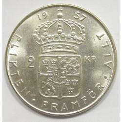2 kronor 1957 TS
