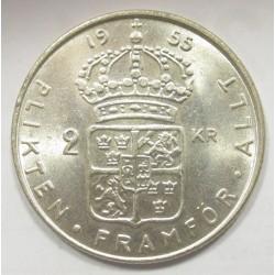2 kronor 1955 TS